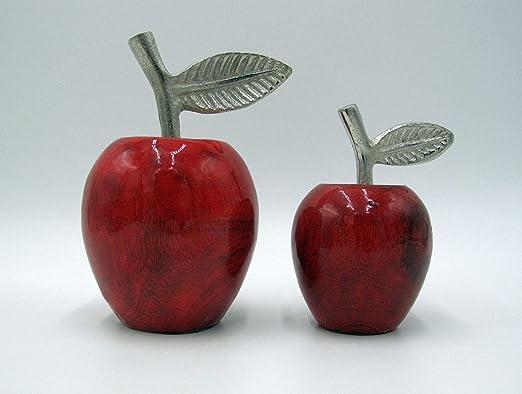 Small-Preis - Juego de 2 Manzanas de cerámica, Color Verde: Amazon.es: Juguetes y juegos