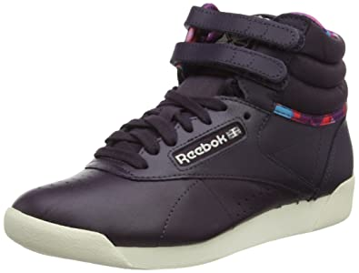 Reebok Freestyle Hi Geo Graphics Damen Sneaker