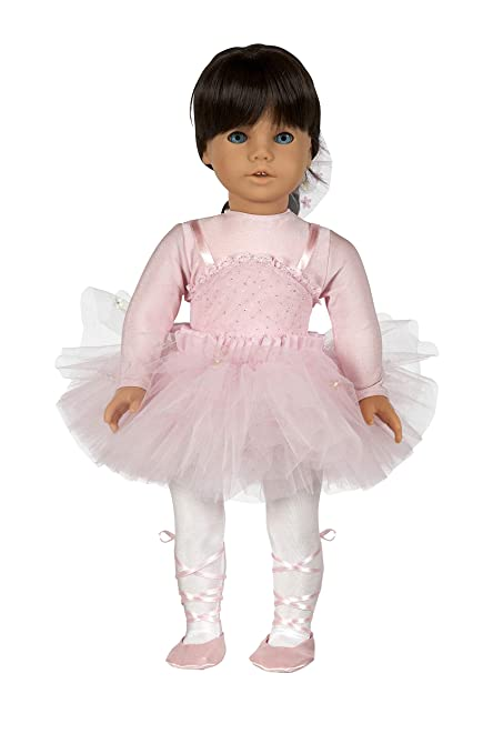 new arrival 95969 0bcc6 Pink Ballerina Costume. Complete outfit with Ballet Shoes. Fits 18