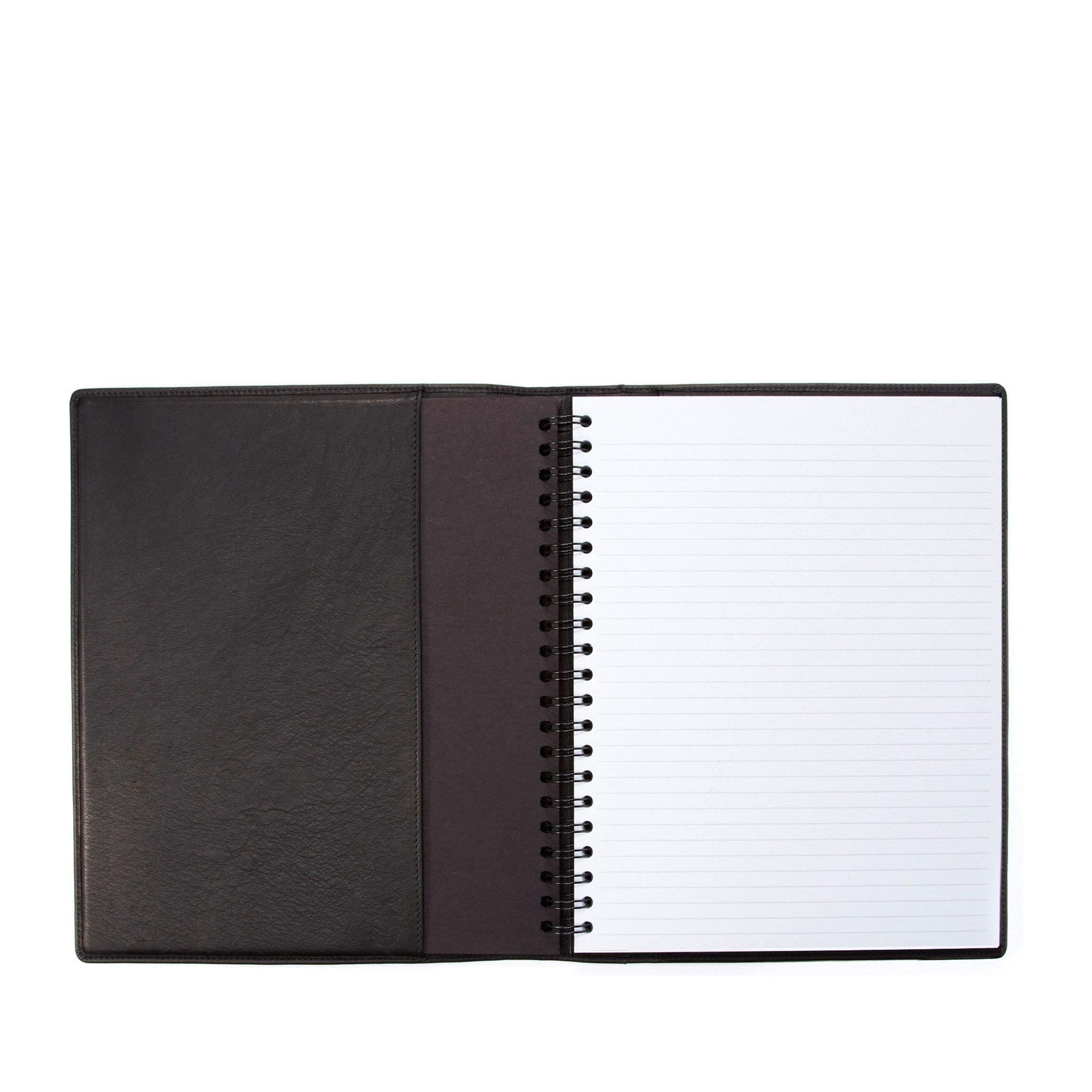 Leatherology Black Onyx Large Notebook by Leatherology
