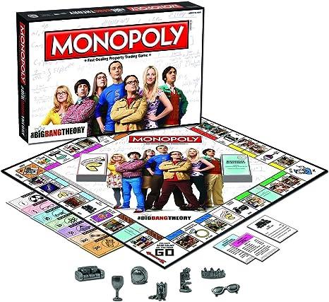 Family Board GamesThe Big Bang Theory Monopoly - Regalo de cumpleaños para niños, diseño de monopolía, HN#GGG_634T6344 G134548TY10445: Amazon.es: Juguetes y juegos