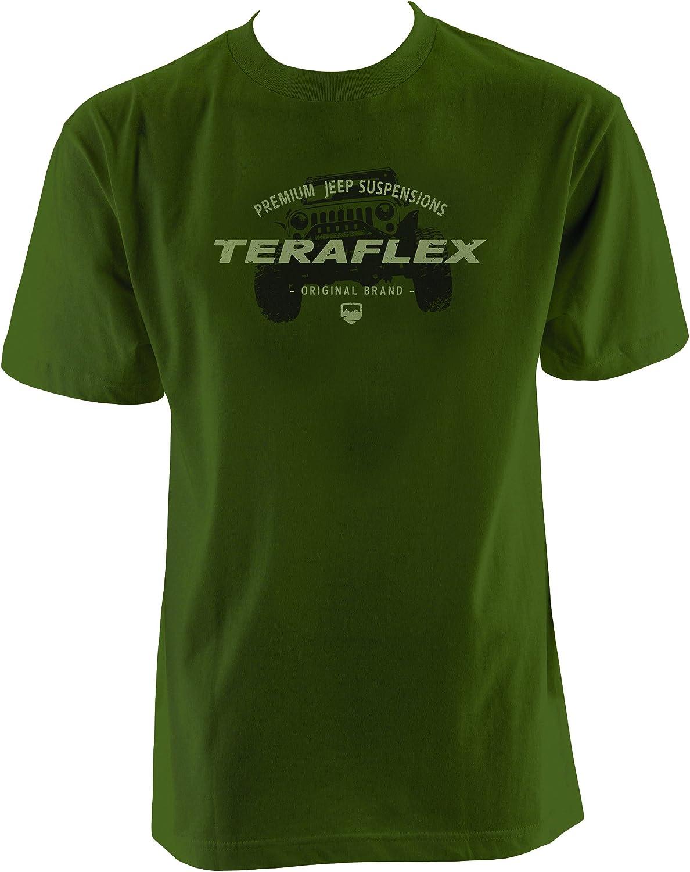 Teraflex 5218714 Army Green T-Shirt Mens 3XL XXXLarge Original Brand