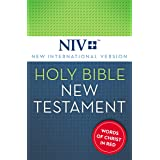 NIV, Holy Bible, New Testament, Red Letter