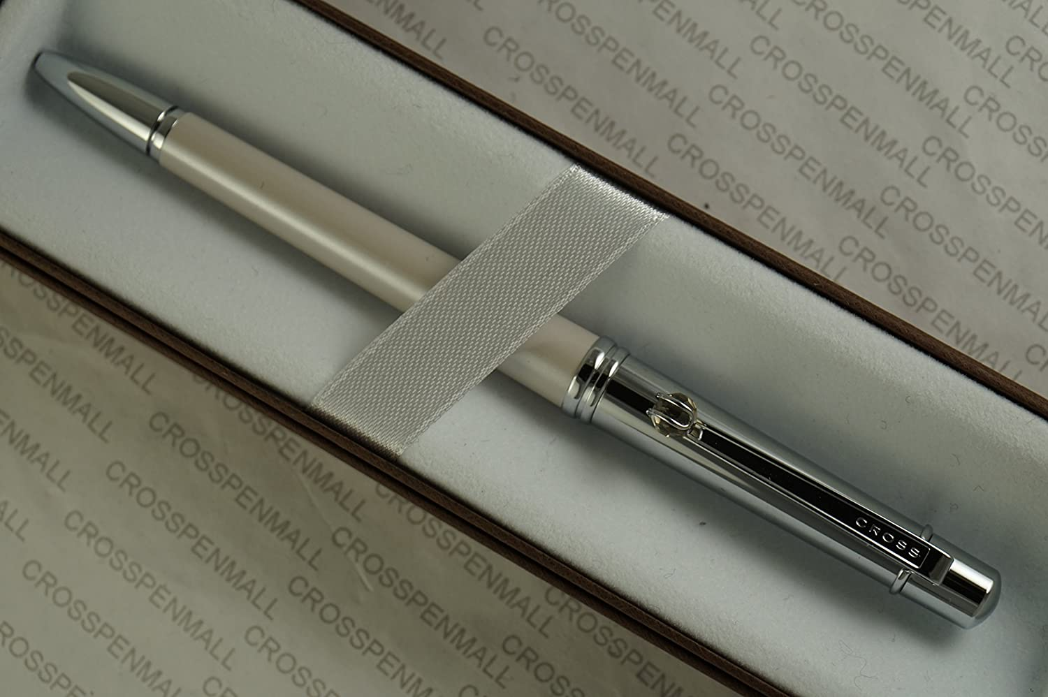 Cross Ivory Stylist Pen /& Pencil Set with Faceted  Crystal Teardrop Ball on Clip
