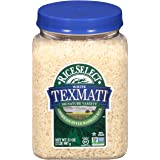 RiceSelect Texmati White Rice, Long Grain, Gluten-Free, Non-GMO, 32 oz (Pack of 4 Jars)