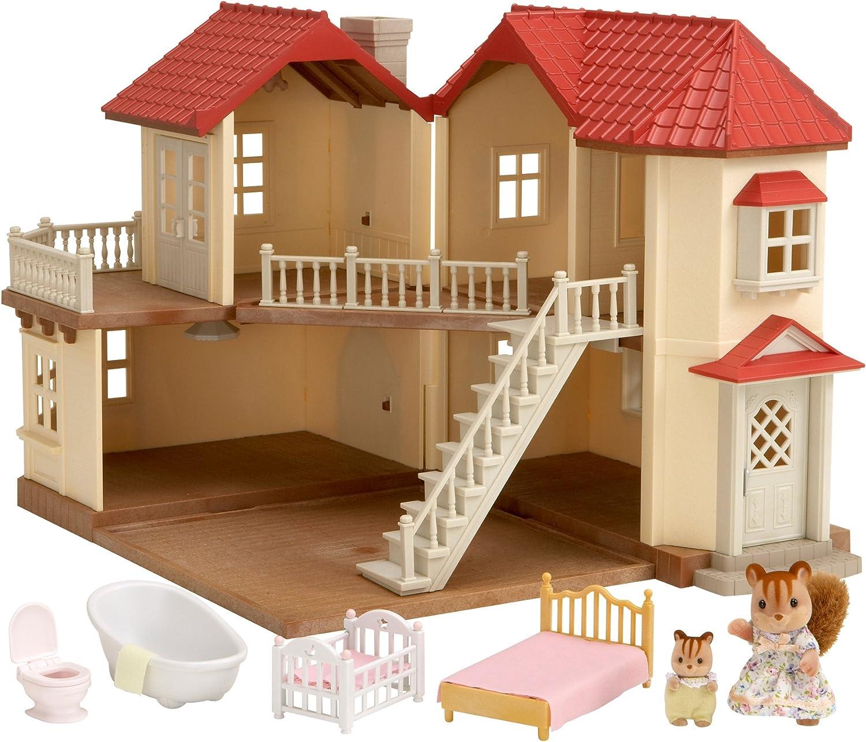 Sylvanian Families Grande Maison Tradition Amazon Ca Toys Games