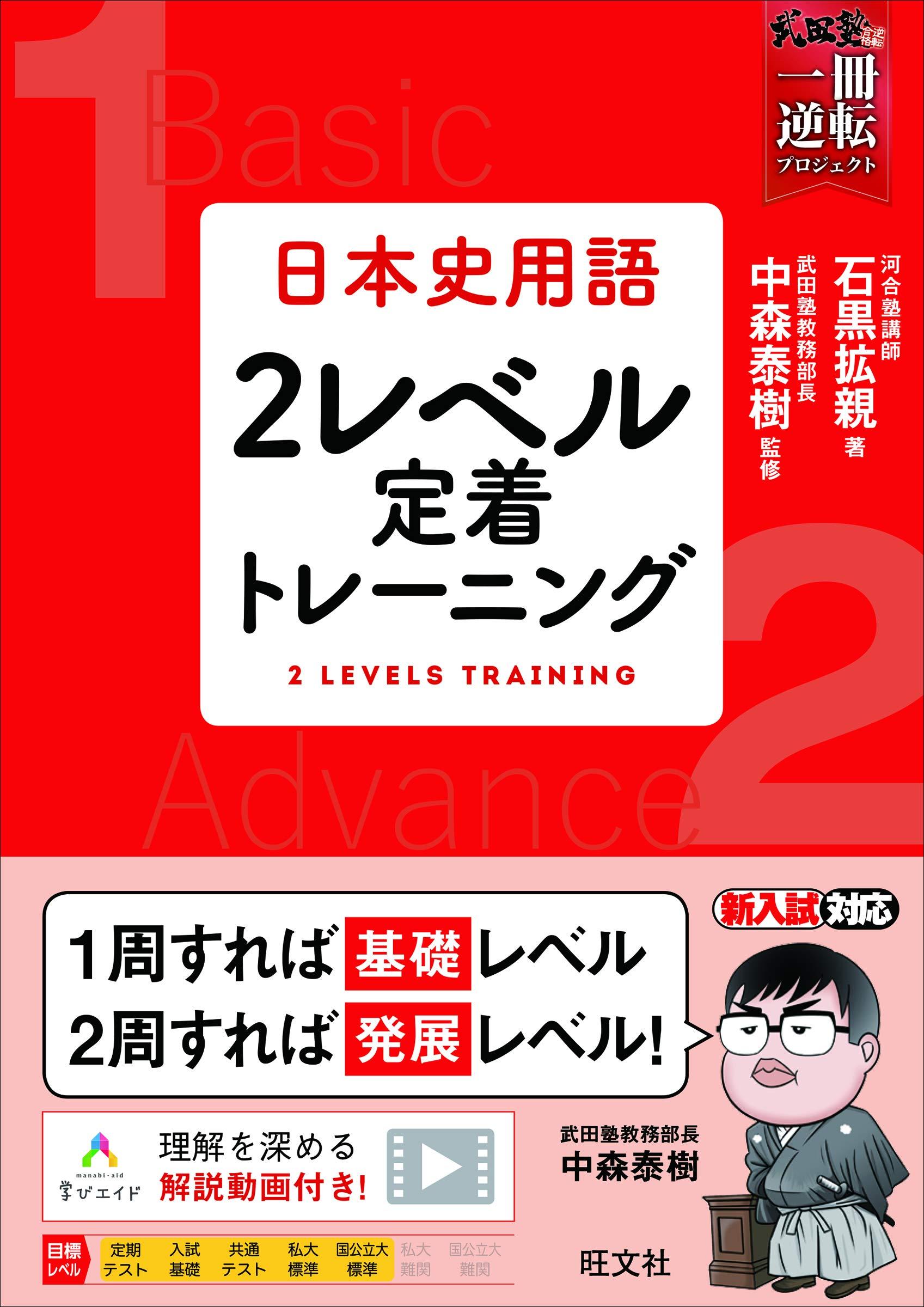 「日本史レベル別トレーニング」の画像検索結果