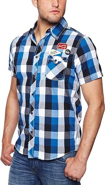 Quiksilver Tar Pits - Camisa para Hombre: Amazon.es: Ropa y accesorios