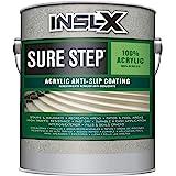 INSL-X SU031009A-01 Sure Step Acrylic Anti-Slip Coating Paint, 1 Gallon, Light Gray