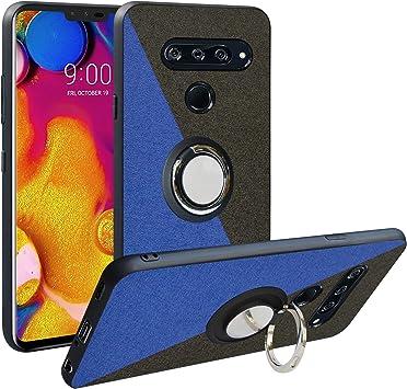 Funda para LG V40 ThinQ,Fashion Design [Antigolpes] con 360 Anillo ...