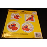 Sesame Street Elmo 4 Assorted Cut Outs Happy Birthday Decorations