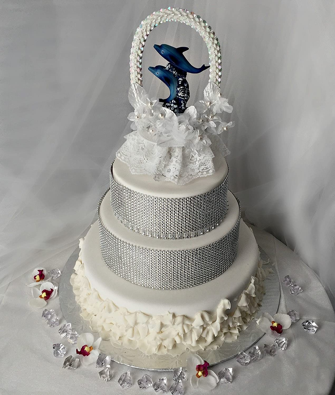 Dolphin Wedding Cake Toppers