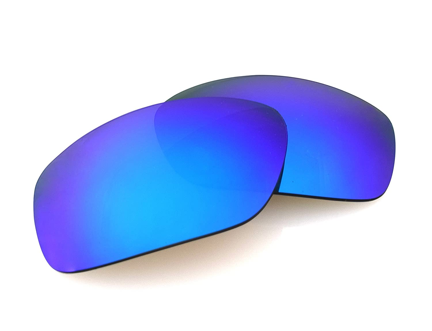 026f468378 LenzFlip Replacement Lenses for Oakley MAINLINK Sunglasses - Gray Polarized  w Blue Mirror  Amazon.in  Beauty