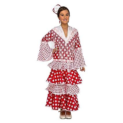 My Other Me Me-203858 Disfraz de flamenca Rocío para niña ...