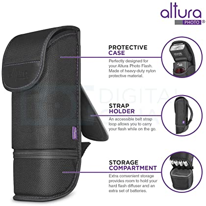 Altura Photo Professional Flash Kit For Nikon Dslr Includes I Ttl