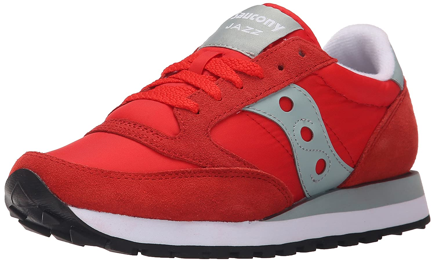 Saucony Originals Women's Jazz Original Sneaker B00XVAGPBO 8 B(M) US|Bright Red