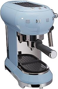 Smeg Espresso Machine Pastel Blue ECF01 PBEU