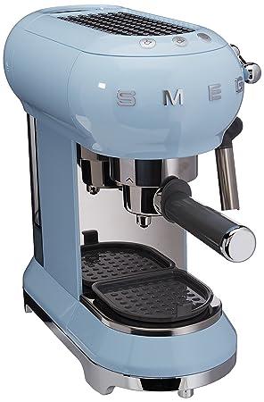 SMEG 146875 Máquina de Café Expreso Azul Pastel