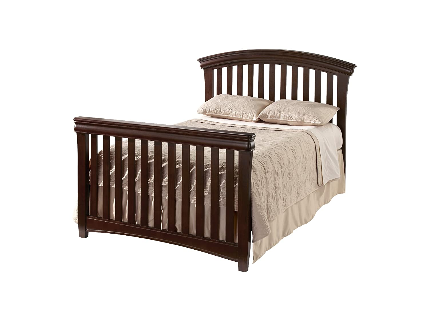 Toddler bed rails for convertible cribs - Amazon Com Westwood Design Stratton Bed Rails Chocolate Mist Nursery Bed Rails Baby