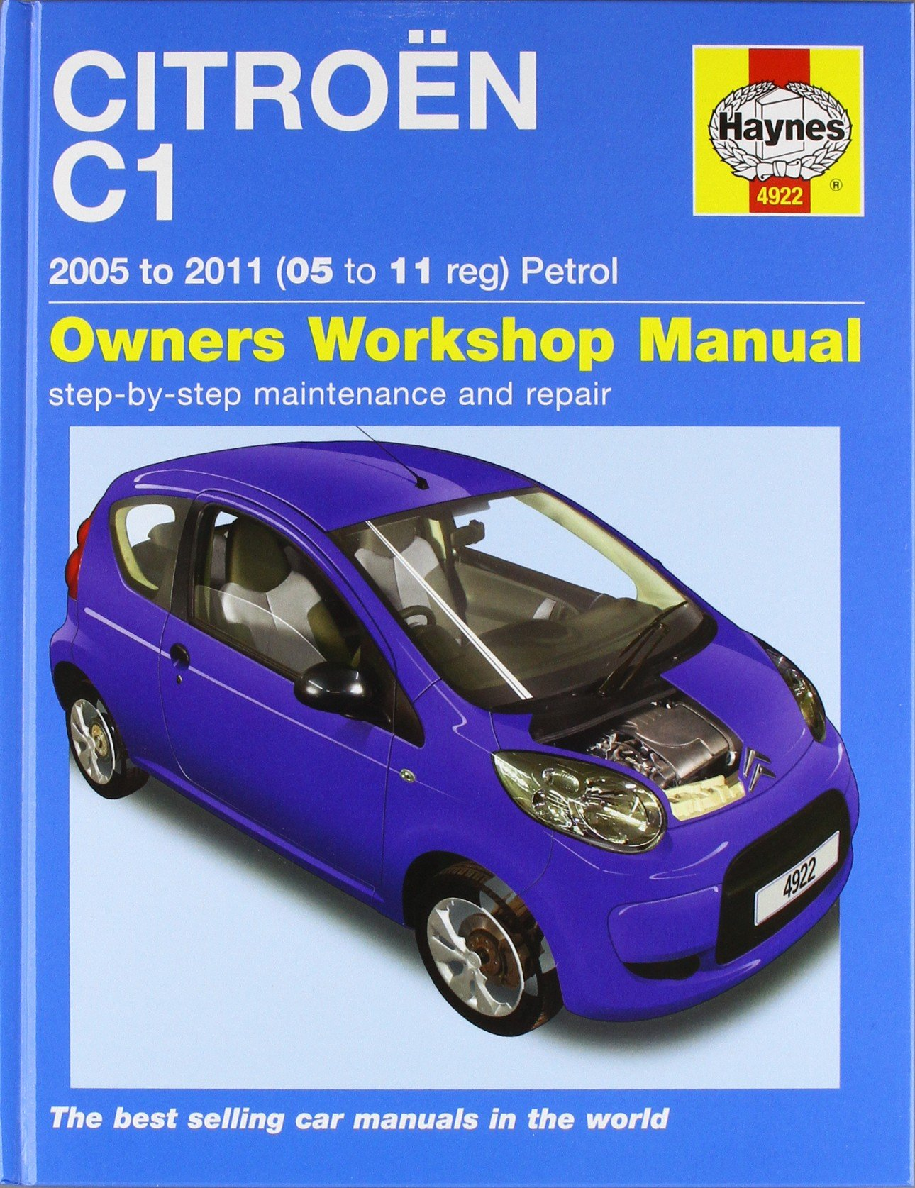 Citroen C1 Petrol (05 - 11) Haynes Repair Manual (Owners Workshop Manual):  Amazon.co.uk: Anon: 9781844259229: Books