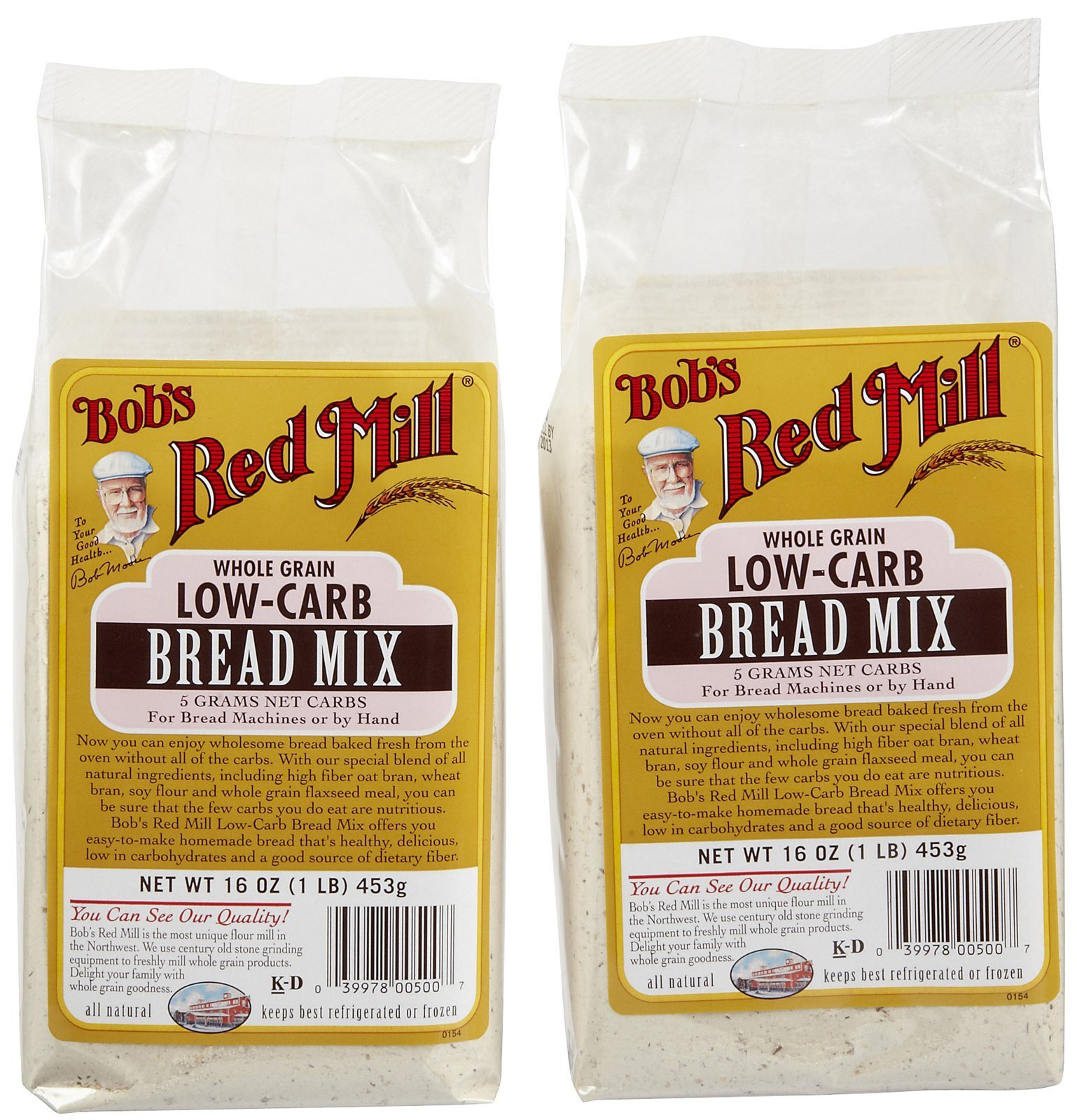 Bob's Red Mill Low Carb Bread Mix - 16 oz - 2 pk