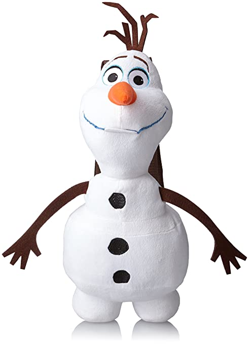 Amazon Com Disney Big Girls Olaf Frozen Plush Backpack Multi