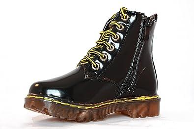 profiter du prix de liquidation profiter de prix pas cher joli design Boots style DR MARTENS vernis fille
