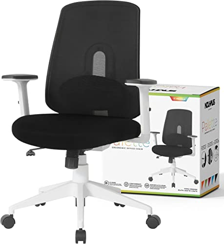 NOUHAUS Palette Ergonomic Office Chair Comfortable Swivel Computer Desk Chair
