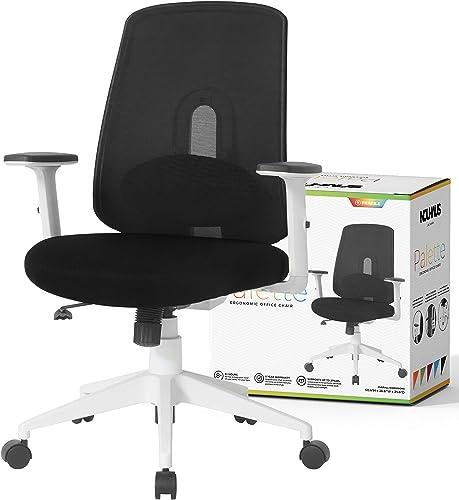 NOUHAUS Palette Ergonomic Office Chair Comfortable Swivel Computer Desk Chair