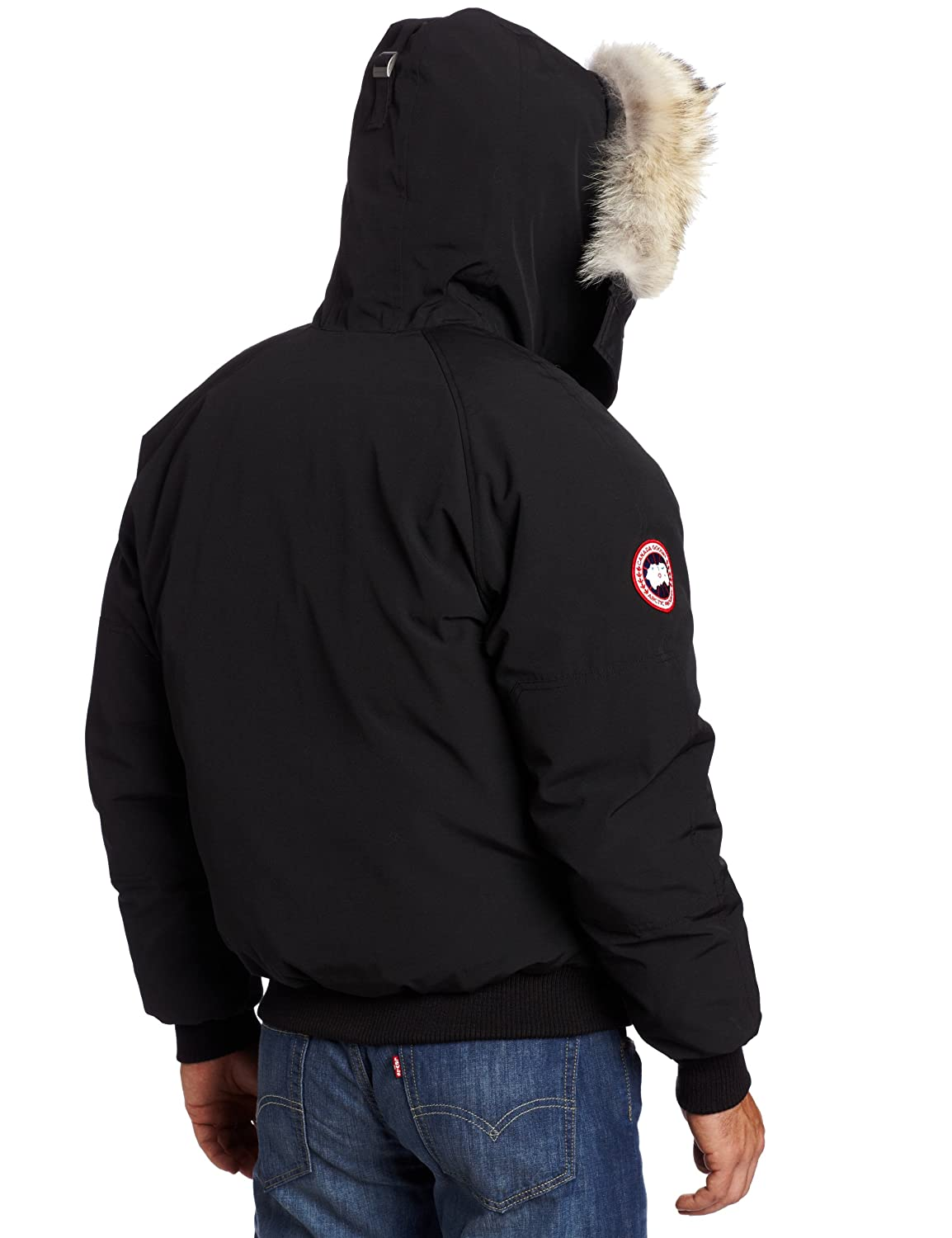 Canada Goose' Chilliwack Bomber Jacket Men's, Black, L