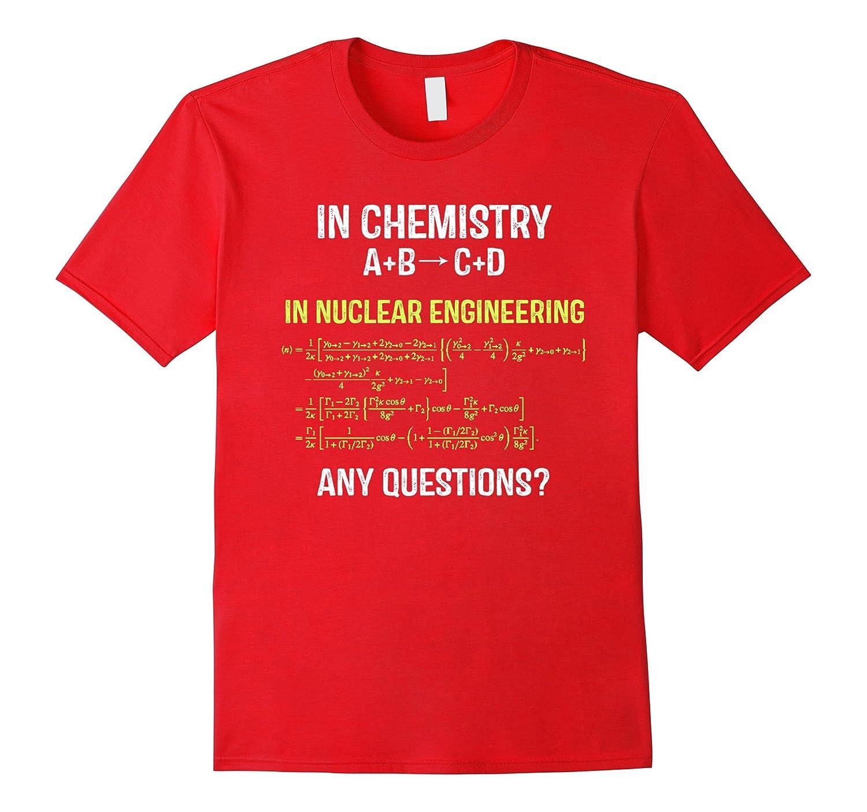 Nuclear Engineering Medicine Physics T-shirt.Nuclear symbol.-TH