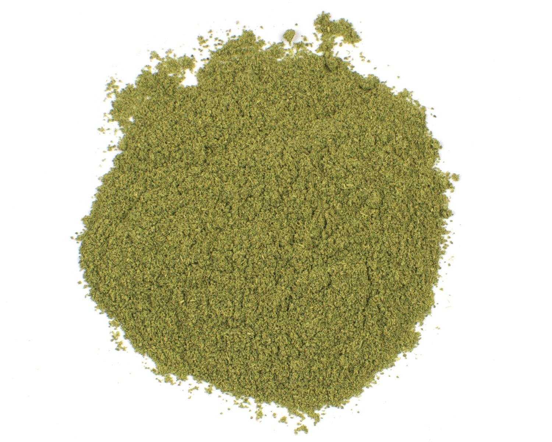 Ground Makrut Lime Leaves, 25 Lb Bag
