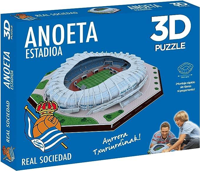 ELEVEN FORCE Puzzle Estadio 3D Anoeta (Real Sociedad) (63485), Multicolor, Ninguna: Amazon.es: Juguetes y juegos