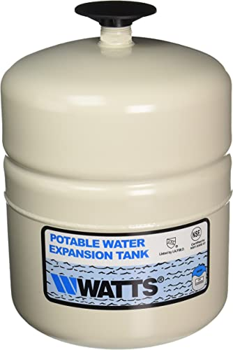 WATTS WATER TECHNOLOGIES GIDDS-1030401 Potable Water Expansion Tank, Model Plt-5, Stainless Steel Nipple, 2.1 Gallon, Lead Free