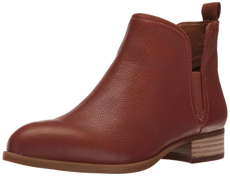 Nine West Women's Nesrin Leather Boot B01N0F7LO1 8 B(M) US|Cognac