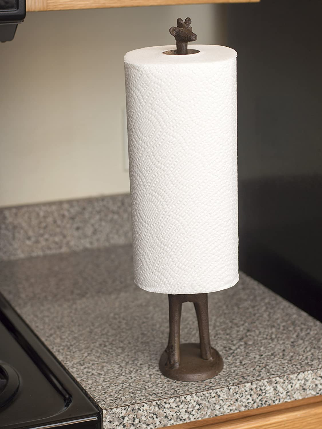 Amazoncom Paper Towel Holder Or Free Standing Toilet Paper -  bathroom paper towel holder