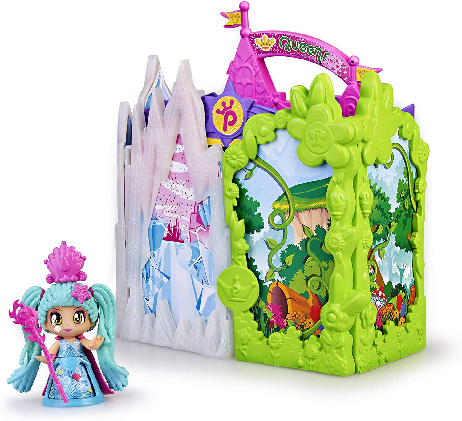 700015574 Queen Castle Figurines Toys Pinypon