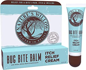 Nature's Willow Bug Bite Balm, Natural Insect Bite Pain & Itch Relief, 0.5 oz.