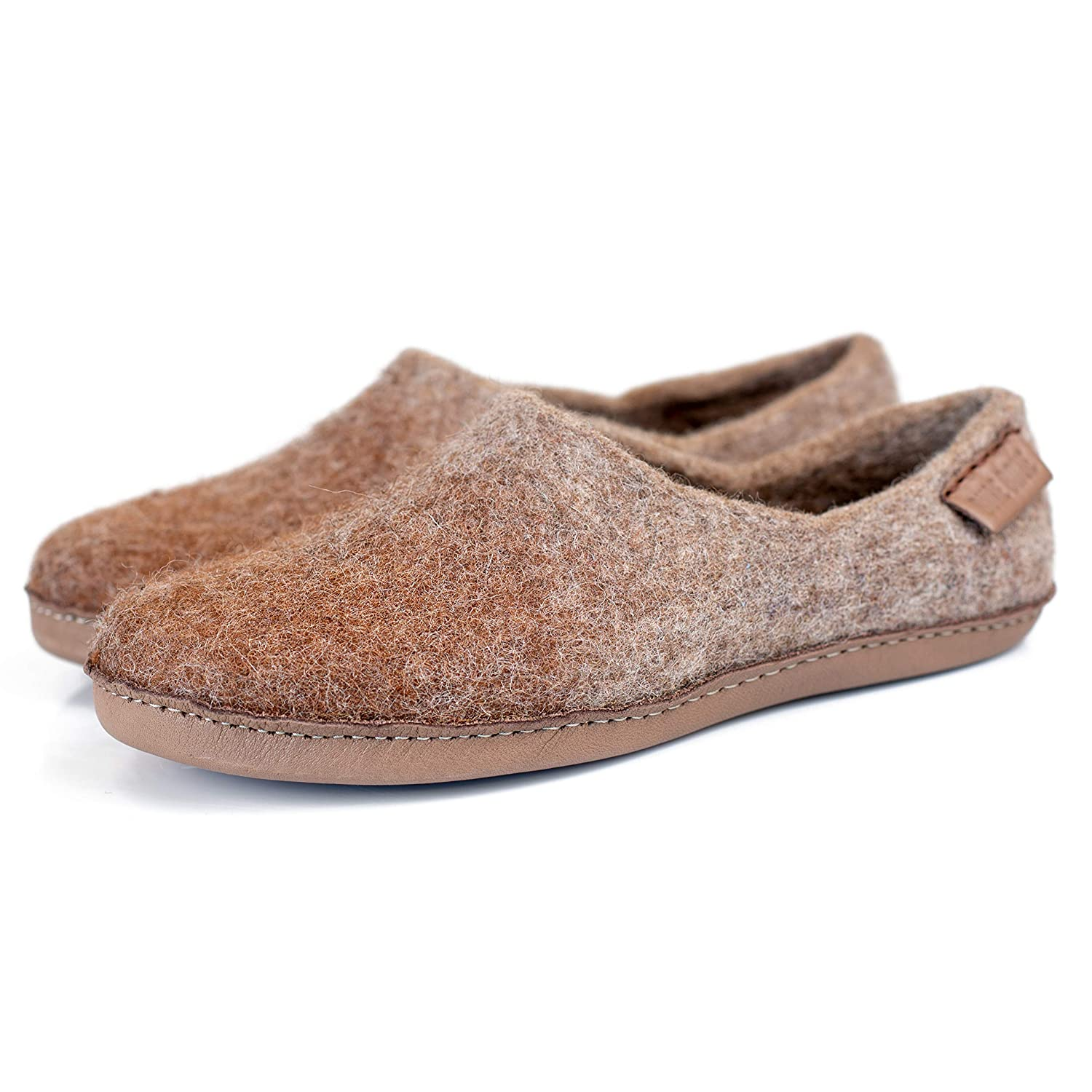 456d74613a685 Amazon.com: BureBure Women's Warm Wool Alpaca Slippers Handmade in ...