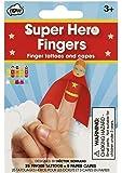 NPW Kid's Finger Puppets Kit - Super Hero Fingers Set