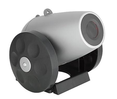 TFA 60.5005 Time Gun - Radiodespertador con proyector de la ...