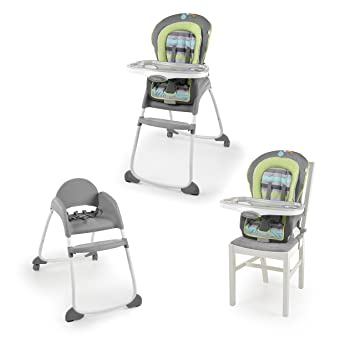 1e74d09186af Amazon.com   Ingenuity Trio 3-in-1 High Chair - Vesper 2-Wheel - High Chair