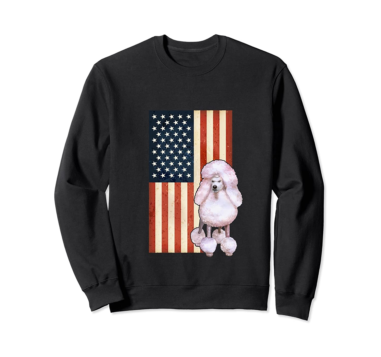 LOVE USA American Flag 4th of July Women Hoodie Gift