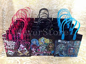 Amazon.com: 12 piezas Monster High bolsas de dulces ...