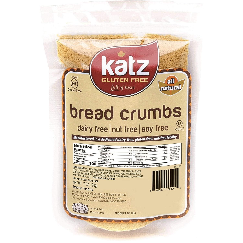 Katz sin gluten Pan migajas (7 oz.) Caso de 6: Amazon.com ...