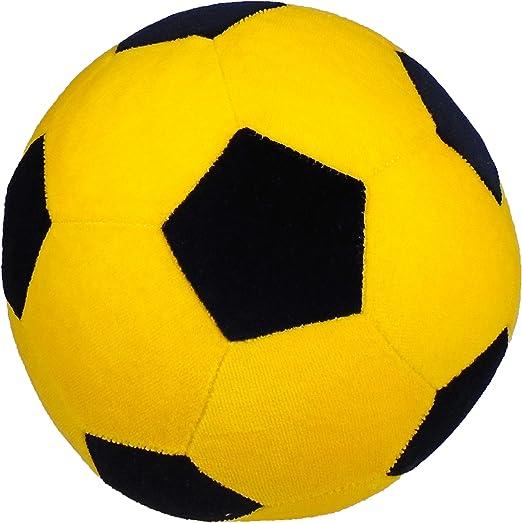 Peluche de Fussball, Amarillo y Negro. Un regalo para fútbol Fan ...