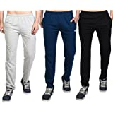 White Moon Men's Stylish Slim Fit Jogger Lower Track Pants for Gym, Running, Athletic, Casual Wear Joggers Combo Pack of 3 for Men