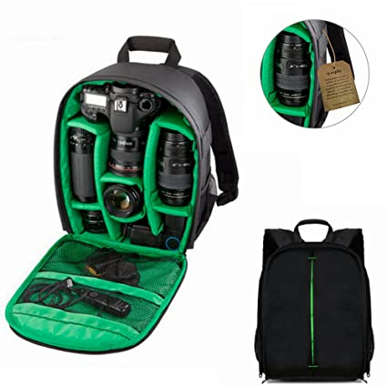Amazon.com : i-graphy Camera Case Backpack for SLR and DSLR ...