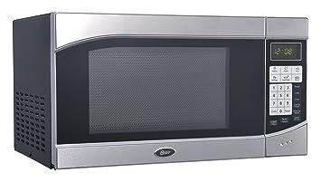 Oster ogh6901 0,9 pies cúbicos Digital microondas horno, acero ...