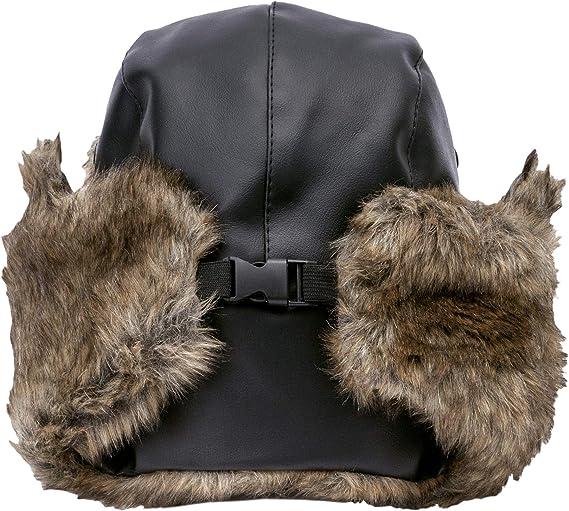 Pilota Cappello Inverno Antivento Trapper Cappelli del Bombardiere Caldo NONMON Berretto Pelliccia da Aviatore Unisex attivit/à allaperto